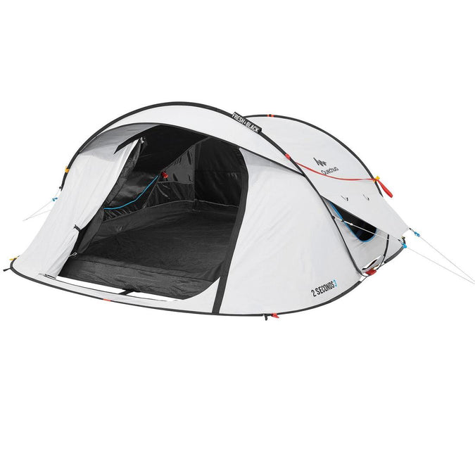 2 Seconds Pop Up Fresh & Black Camping Tent 3 Person, photo 1 of 25