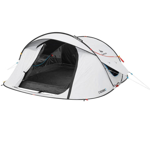 2 Seconds Pop Up Fresh & Black Camping Tent 3 Person