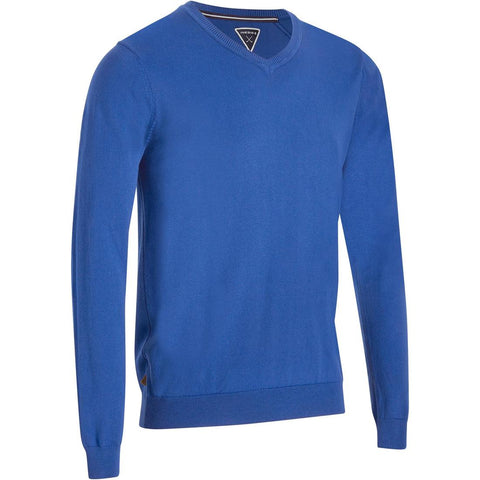 INESIS - Men's Mild Weather Golf V-Neck Pullover