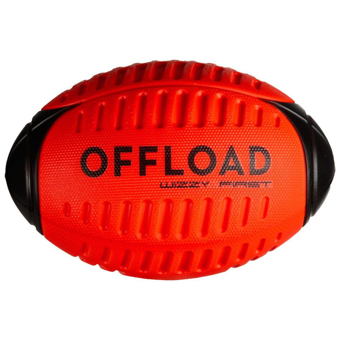 OFFLOAD - Wizzi R100 Foam Recreational Rugby Ball Size 3, photo 1 of 8
