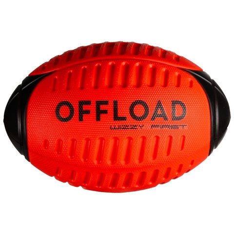 OFFLOAD - Wizzi R100 Foam Recreational Rugby Ball Size 3