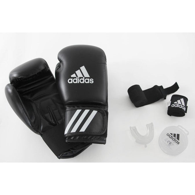 Adidas Beginners' Boxing Kit: Gloves, Wraps, Mouthguard, photo 1 of 10