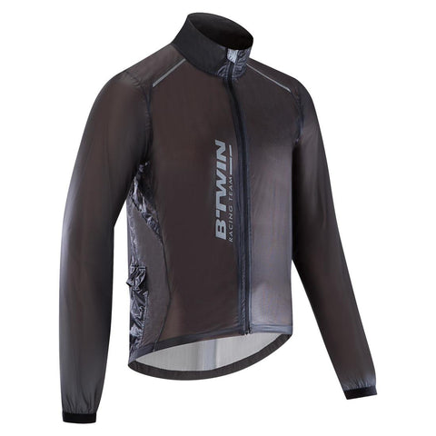 VAN RYSEL - Van Rysel Ultralight Sport Road Cycling Rain Jacket