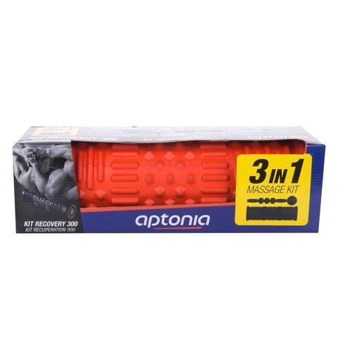 APTONIA - Massage Kit: Massage Roller, Ball & Stick