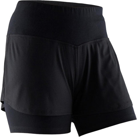 DOMYOS - 520 Women's Gym & Pilates Shorts