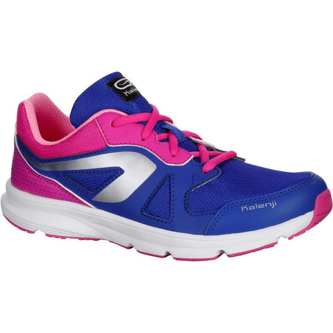 KALENJI - Ekiden Active Children's Running Lace-Up Shoes - Blue