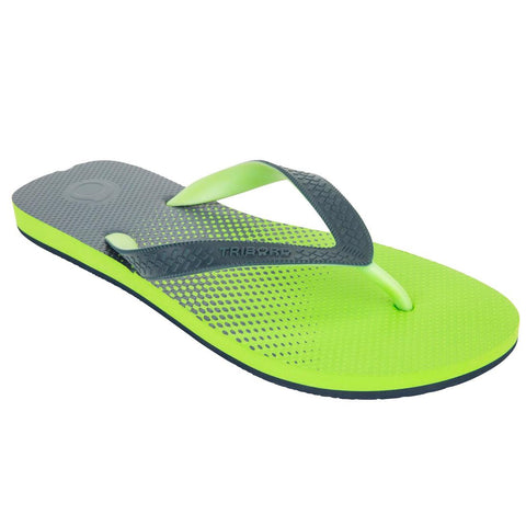 TRIBORD - Men's Thongs TO 500S - Blue Green