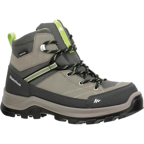 QUECHUA - MH 500 Mid Kids Waterproof Hiking Boots