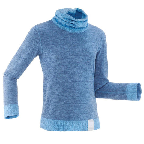 WEDZE - 2warm Kids Long-Sleeve Base Layer Ski Top