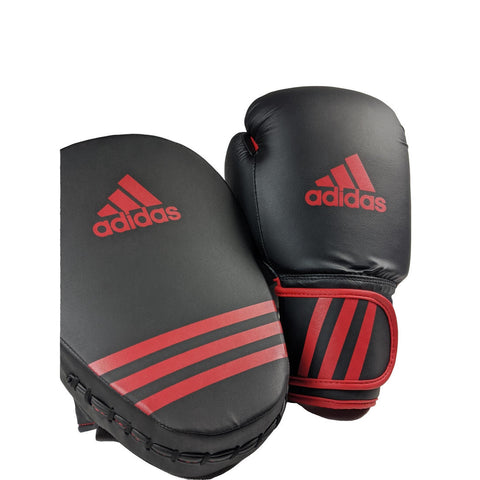 ADIDAS Glove 12oz and focus mitt
