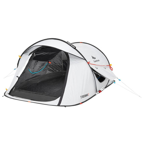 2 Seconds Pop Up Fresh & Black Camping Tent 2 Person
