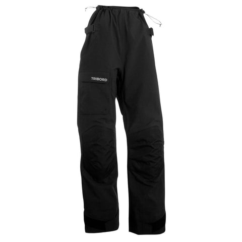 TRIBORD - Offshore Women's Waterproof Sailing Overtrousers - Black