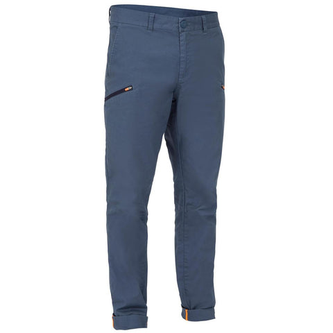 TRIBORD - Sailing 100 Men's Rugged Sailing Trousers - Grey