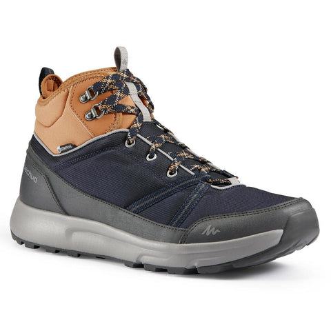 Men's Waterproof High Top Country Walking Shoes - NH150 WP Mid