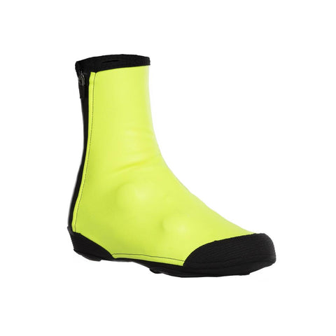 B'TWIN - 500 RoadR Sport Cycling 3mm Overshoes - Neon Yellow