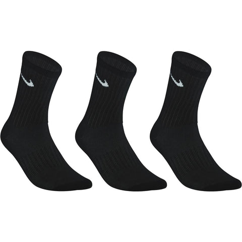 Nike High Basic Tennis Socks Tri-Pack - Black