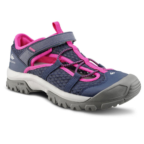 Kids Sandals MH150 - Navy Blue/Pink