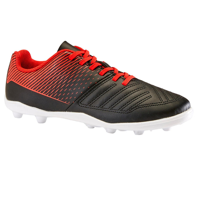 Hard Ground Football Boots Agility 100 HG - Black/Red, photo 1 of 11