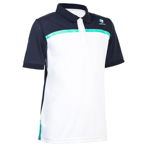 ARTENGO - 900 Boy's Short-Sleeve Tennis Polo Shirt