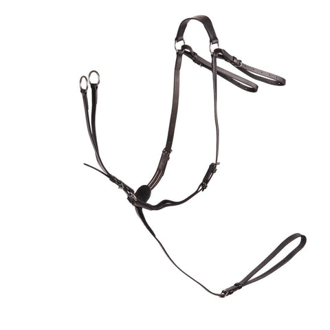 FOUGANZA - Horse Riding Schooling Hunting Martingale