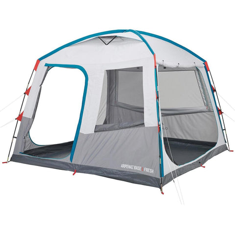 QUECHUA - Arpenaz Camping Living Shelter With Poles - 8 Person