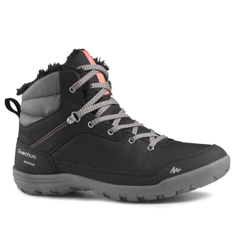 QUECHUA - SH 100 Women's Warm Snow Hiking Boots