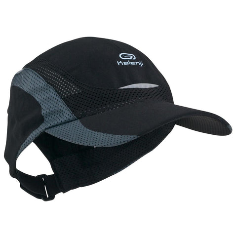 KALENJI - Running Anti UV Cap (black/white/grey)