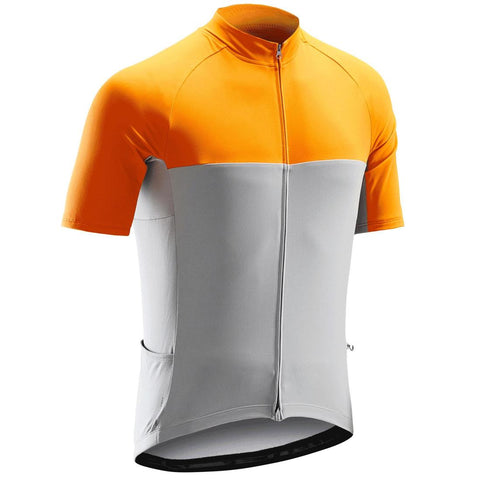 TRIBAN - Triban Rc100 Short-sleeved Warm Weather Road Cycling & Touring Jersey