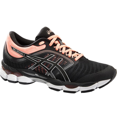 Asics Women's Running Shoe Gel Ziruss - Black Pink