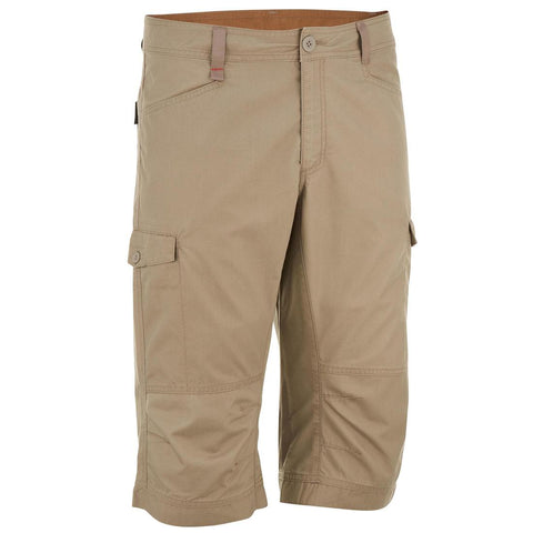 QUECHUA - NH 500 Men's Hiking Long Shorts