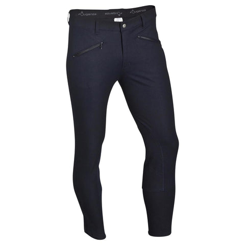 FOUGANZA - Basic Horse Riding Jodhpurs - Navy Blue