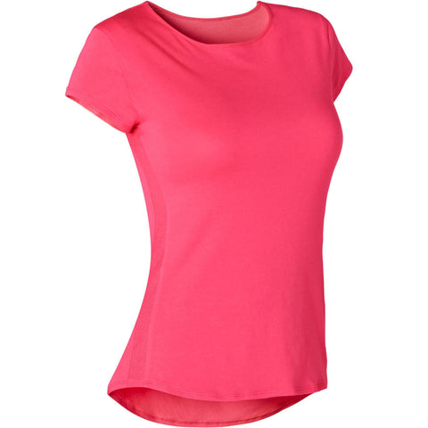 Women's Pilates & Gentle Gym Sport T-Shirt 520 - Pink