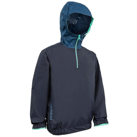 TRIBORD - 100 Kids Windproof Dinghy Sailing Smock