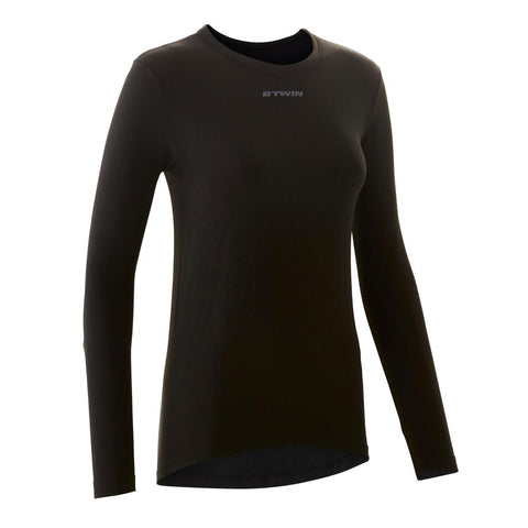 TRIBAN - Triban 100 Women's Long-sleeved Cycling Base Layer