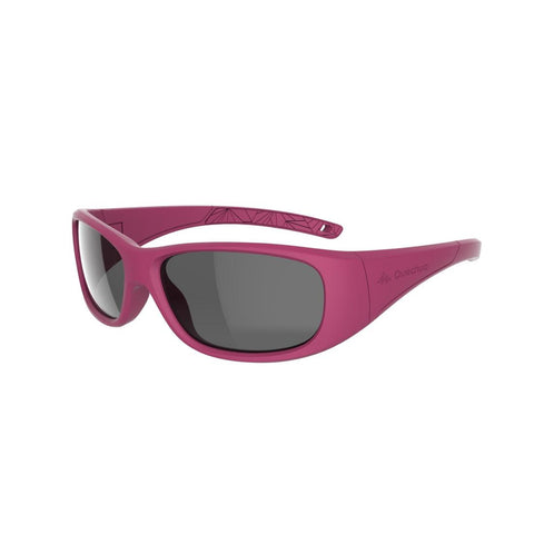 QUECHUA - MH 100 Kids Hiking Sunglasses