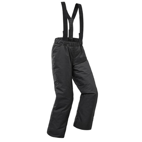 WEDZE - Kids' Ski Trousers 100 - Grey