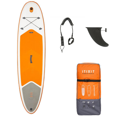 100 Inflatable 9'8 Touring Stand Up Paddle,