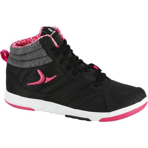 DOMYOS - 360 Street Women's Fitness Shoes - Black/Pink