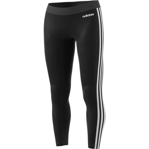 Adidas Women's 3 Stripe Leggings - Black