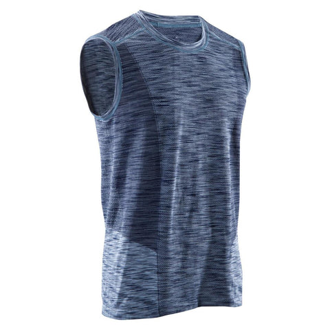 DOMYOS - Men's Seamless Yoga Tank Top