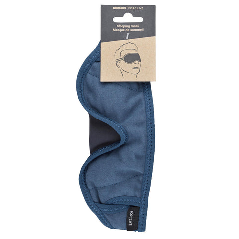 Trekking travel sleep mask - blue