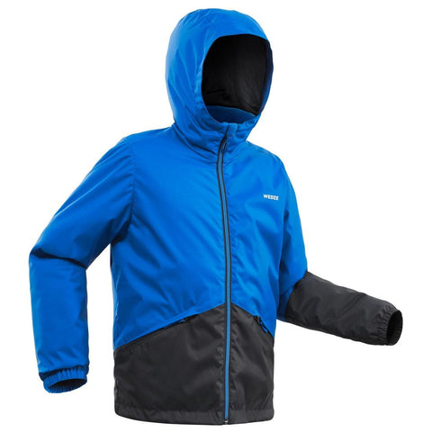 WEDZE - KIDS' SKI JACKET 100 - BLUE