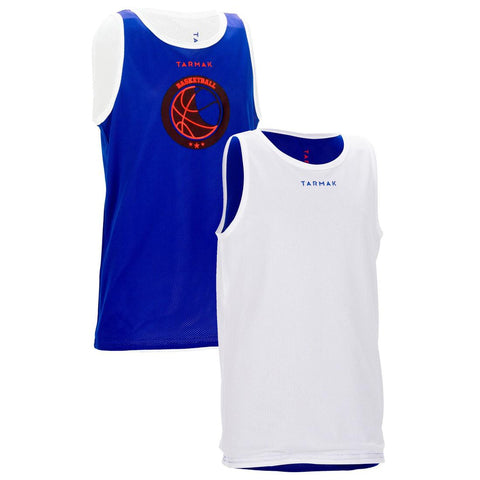 TARMAK - Reversible Advanced Kids Basketball Jersey