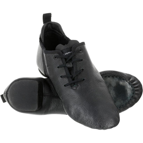 DOMYOS - Adult Split-Sole Leather Modern Dance Shoes