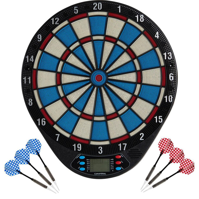 CANAVERAL - ED 110 Interactive Electronic Dartboard (20 games), photo 1 of 10