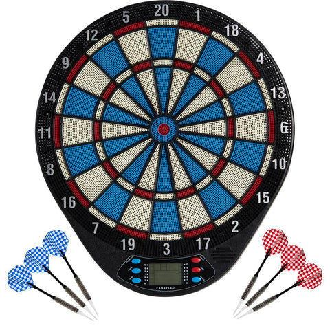 CANAVERAL - ED 110 Interactive Electronic Dartboard (20 games)