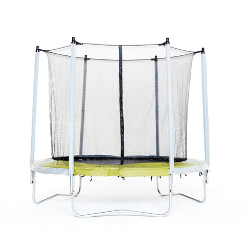 DOMYOS - 240 8Ft Essential Trampoline With Protective Net