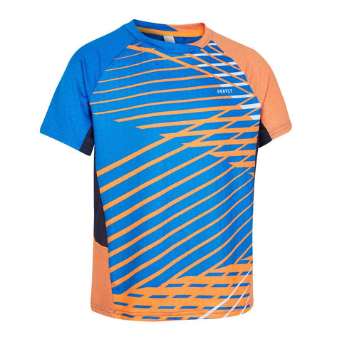 PERFLY - T shirt 560 JR BLUE ORANGE