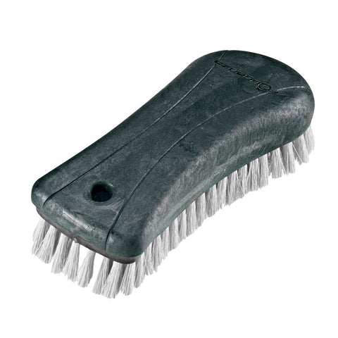 FOUGANZA - Schooling Soft Horse Riding Brush Large - Grey