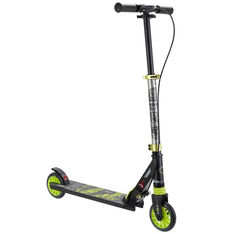 Oxelo Mid5 Kids' Scooter With Handlebar Brake & Suspension